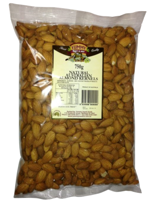 Almonds Natural 750g