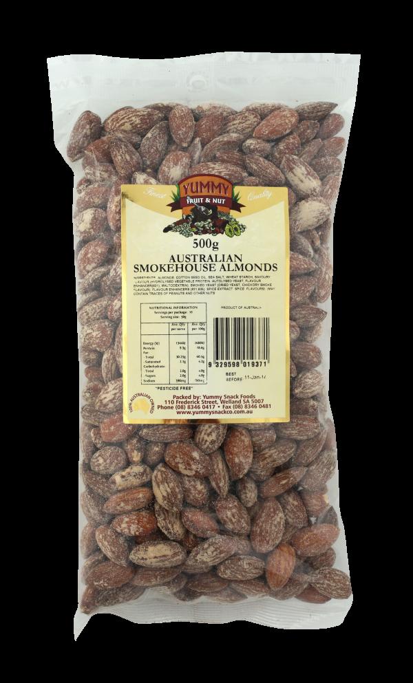 Almonds Smoked 500g