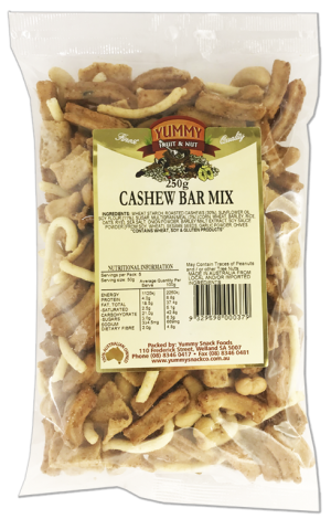 Cashew Bar Mix 250g