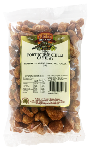 Cashews Portuguese Chilli 400g