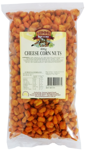 Corn Nuts Cheese 400g