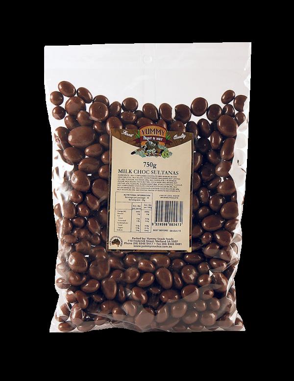 Sultanas Milk Chocolate 750g