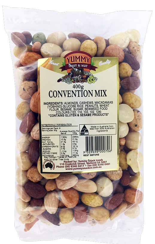 Convention Mix 400g