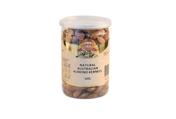 Jar - Almonds Natural 400g