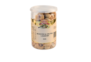 Jar - Cashews Roasted & Salted 350g
