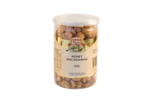 Jar - Macadamias Honey Roasted 350g