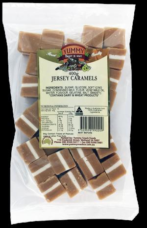 Jersey Caramels 400g