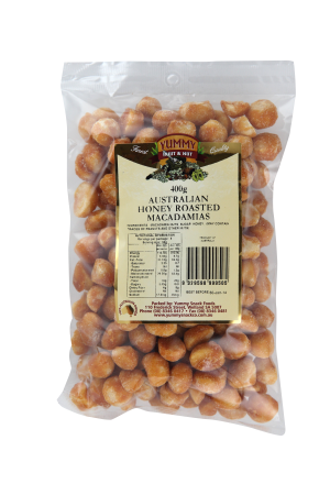 Macadamias Honey Roasted 400g