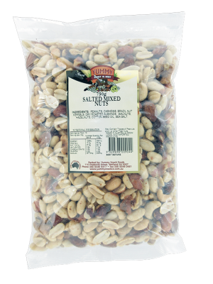 Mixed Nuts Salted 750g