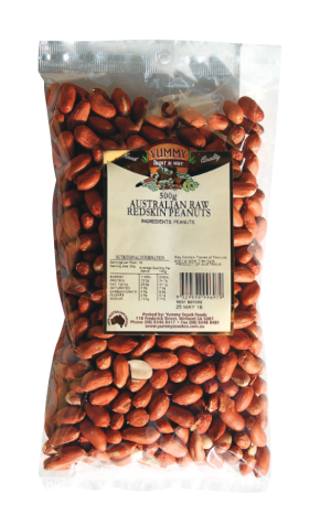 Peanuts Raw Redskin 500g