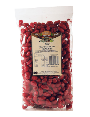 Peanuts Red Sugared 500g