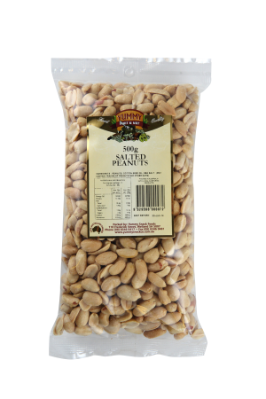 Peanuts Roasted & Salted 500g