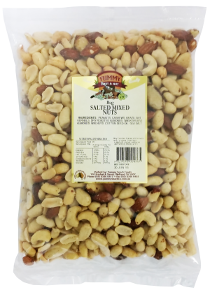 Mixed Nuts Salted 1kg