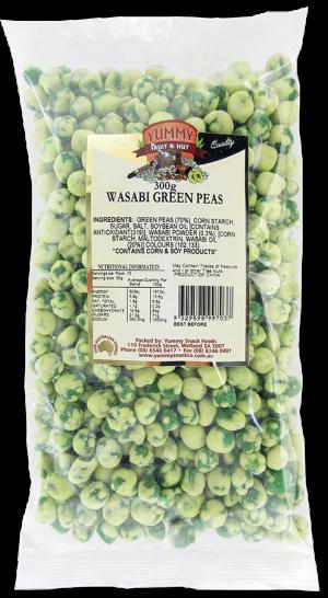 Wasabi Green Peas 300g