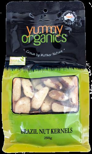 Yummy Organics - Brazil Nut Kernels 250g