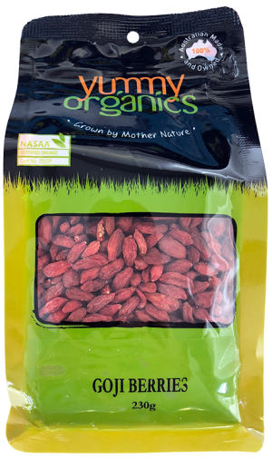 Yummy Organics - Goji Berries 230g