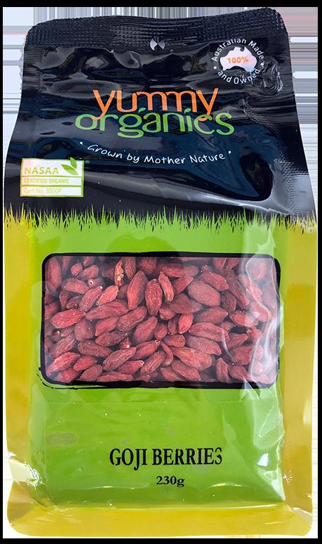Yummy Organics - Goji Berries 230g