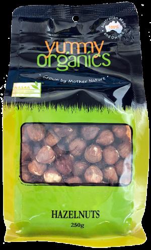 Yummy Organics - Hazelnut Kernels 250g