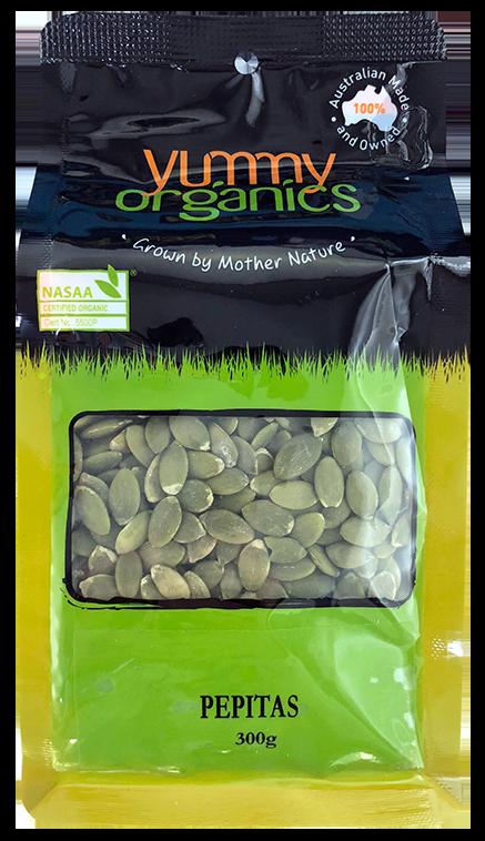 Yummy Organics - Pepitas 300g