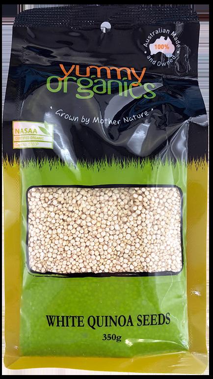 Yummy Organics - Quinoa Seeds White 350g