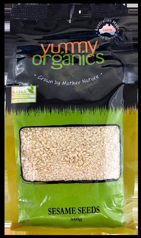Yummy Organis - Sesame Seeds 350g